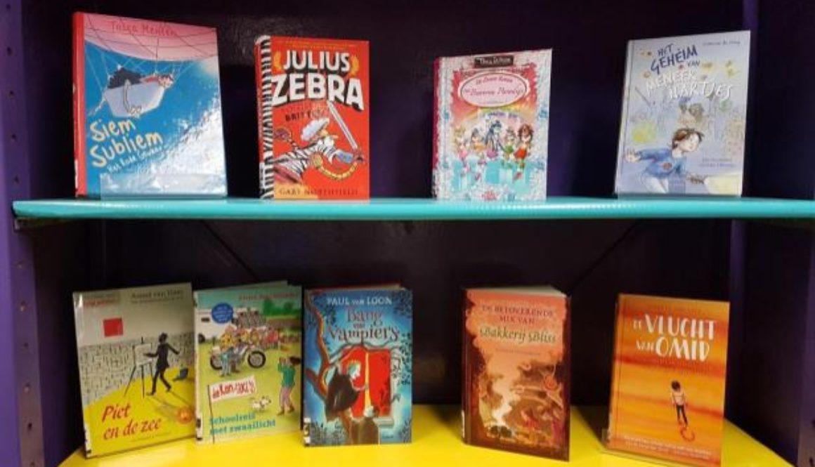 Nieuwe boeken voor de bibliotheek!